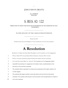 S.Res. 82-A Resolution to to Update the Senate Rules