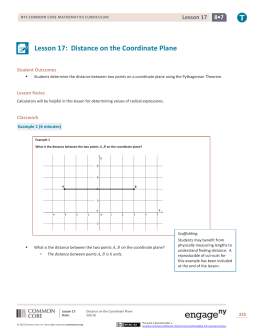 Grade 8 Mathematics Module 7, Topic C, Lesson 17