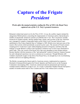 Capture of the Frigate President