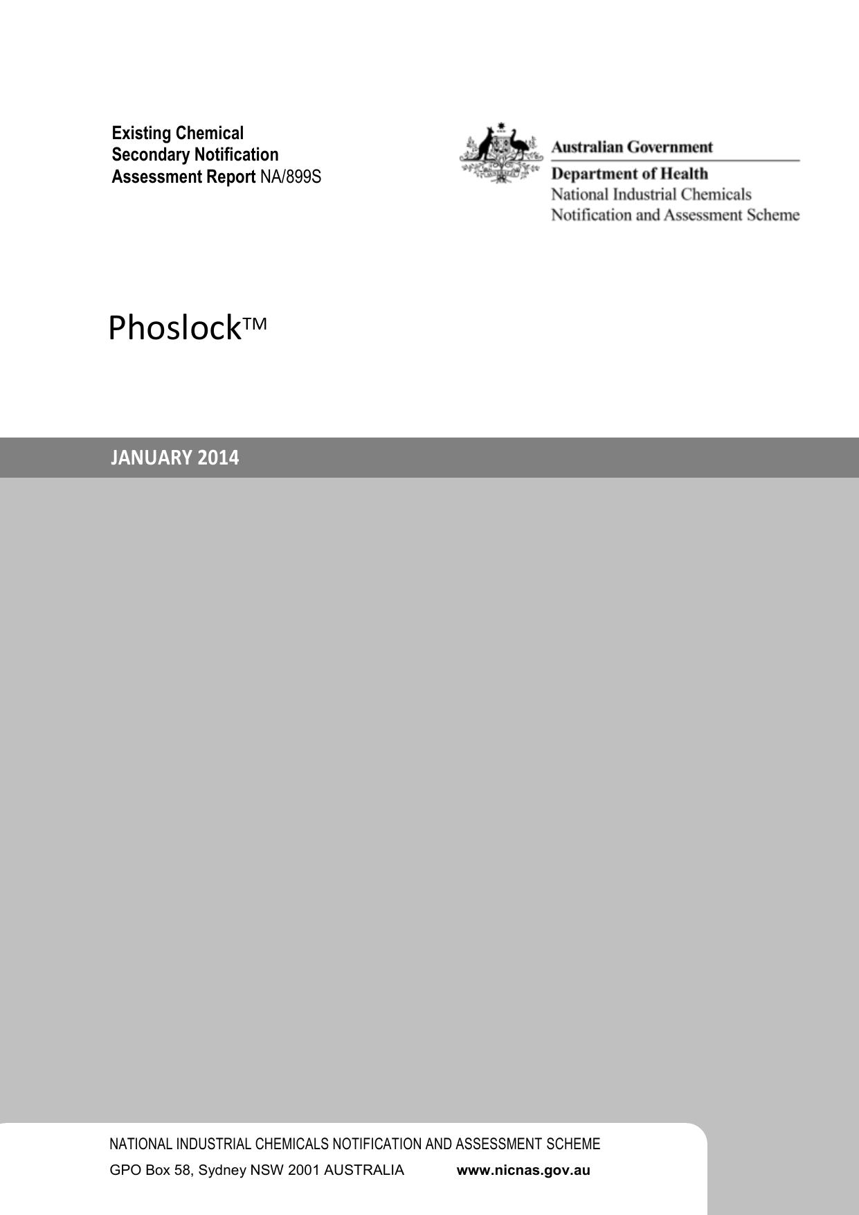 Phoslock™ (Lanthanum Modified Clay)