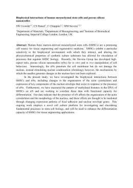 2015 Whitaker Conference Abstract, SW Crowder