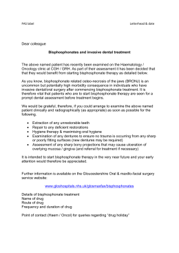 Haematology referral letter for dental assessment