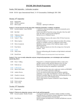 INCISE 2014 Draft Programme