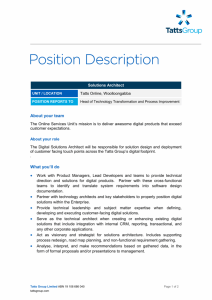 Position Description Template