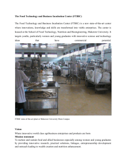 Makerere-CAES-Food-Technology-and-Business-Incubation