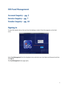 Account Inquiry