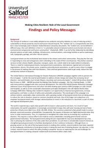 View policy briefing note