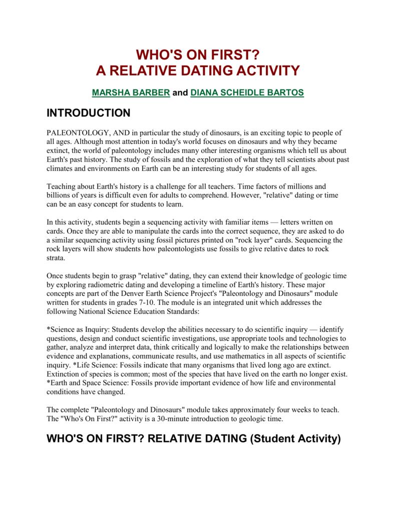 radiometric dating quizlet login