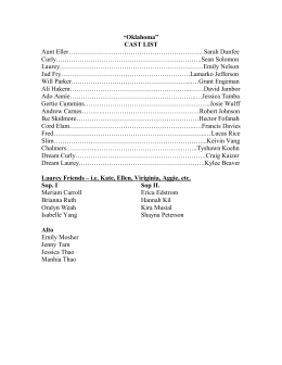 "gran torino essay plan oklahoma"" cast list"