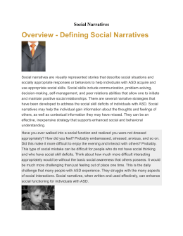 Social Narratives