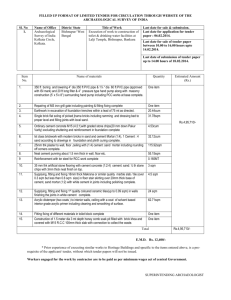 FILLED UP FORMAT OF LIMITED TENDER FOR CIRCULATION