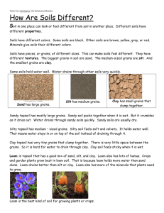 How Are Soils Different Article