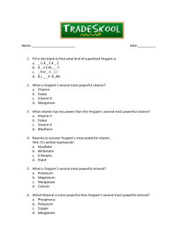 Hard Quiz - Tradeskool