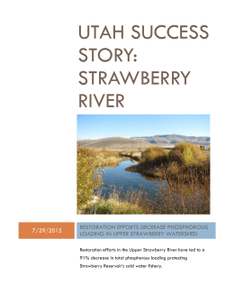 Utah Success Story: Strawberry River