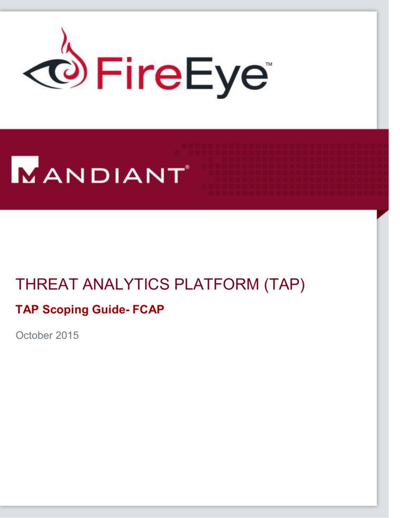 FireEye TAP Form
