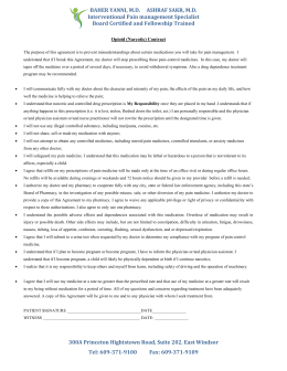 Sample opioid treatment agreement med contract cloudfront pronofoot35fo Choice Image