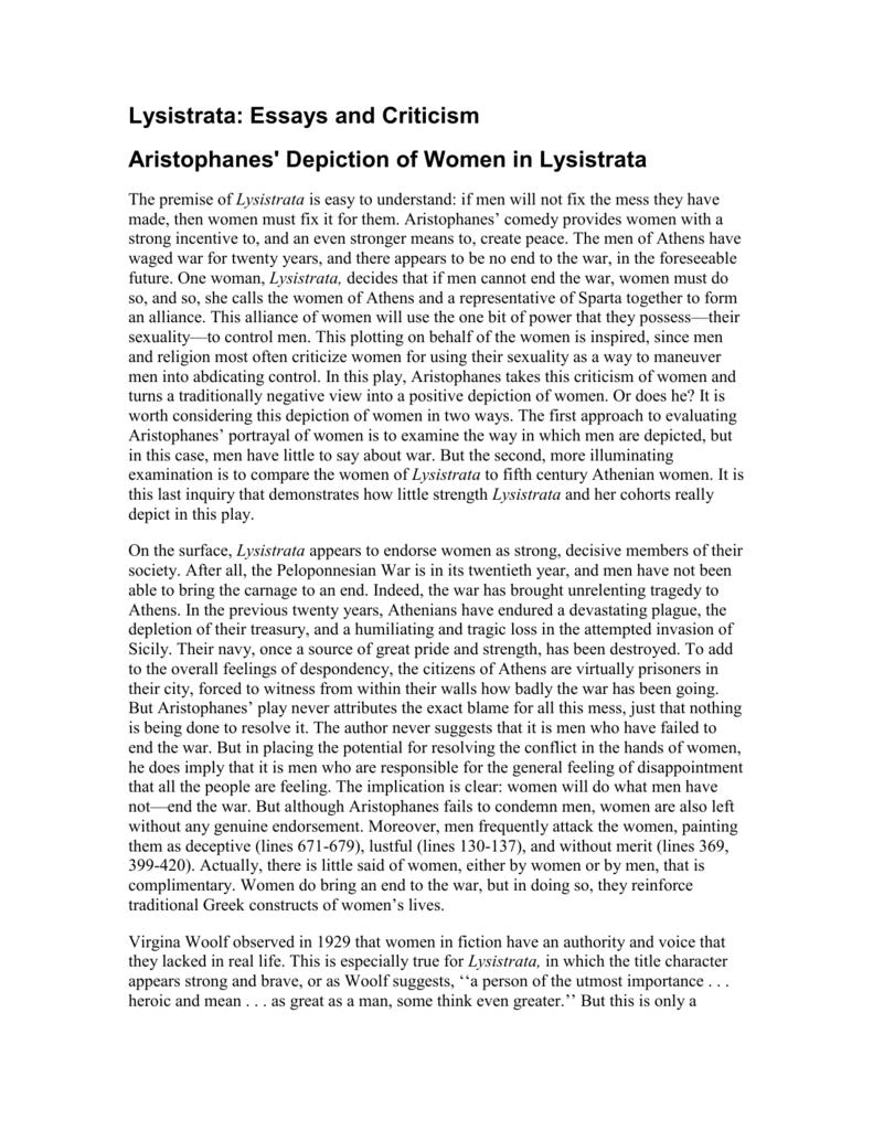 Lysistrata - bhsvceenglish