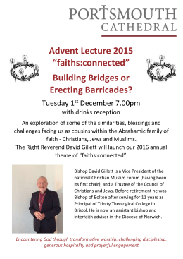 Advent 2015 David Gillett