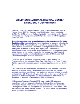 children`s hospital national medical center emergency
