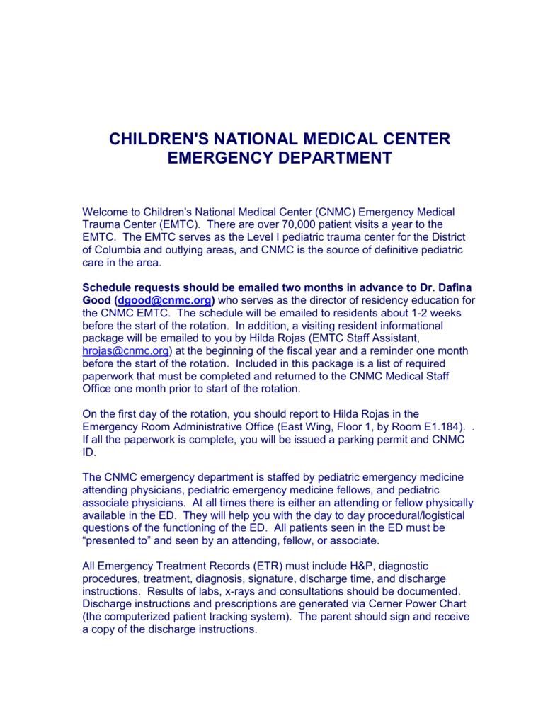 Childrens hospital national medical center emergency altavistaventures Gallery
