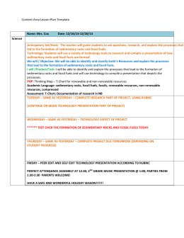 Content Area Lesson Plan Template Name: Mrs. Cox Date: 12/16/13