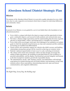 Executive Summary - Aberdeen School District