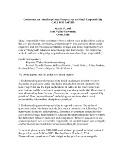Call For Papers - Utah Valley University