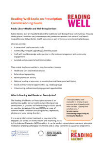 Commissioning guidelines