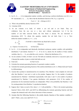 Syllabus - Industrial Engineering Department EMU-DAU