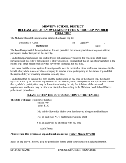 AU Fieldtrip permission slip April 9th