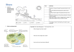 Rivers revision sheet