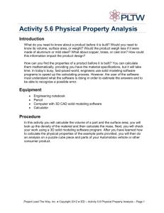 pltw ied activity 5.4 answer key
