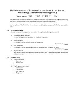 Methodology Letter of Understanding Template