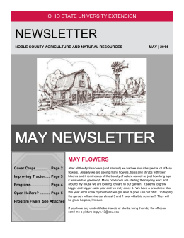 May Newsletter - u.osu.edu.chicken