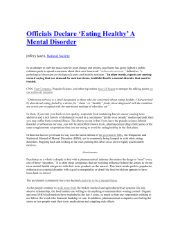 contemporary issues in health psychology anorexia Learn more about treatment for eating disorders such as anorexia,  important issues that need  mental health (2007) eating disorders 2.