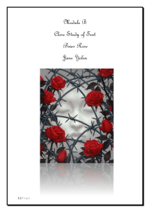 Intertextuality in Briar Rose