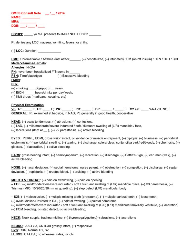 NAME - OMFS Resident Guide