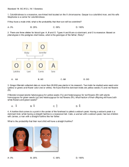 Genetic Problems Worksheet The Wuggygumples