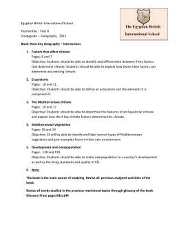 Humanities Year 8 studyguide2015 (2)