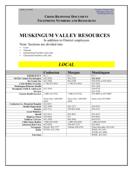 Resources - Muskingum Valley Educational Service Center