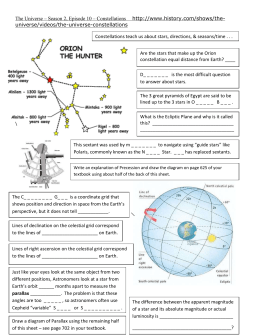 Chapter 30 review guide answers the universe movie guided notes ccuart Choice Image