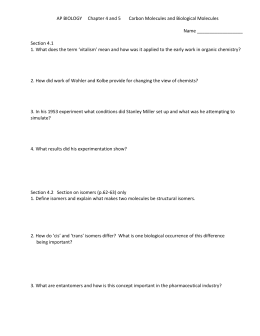 Chapter 4/5 Worksheet