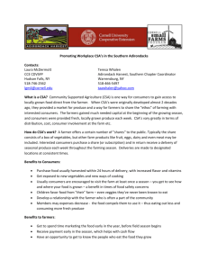 Factsheet - Cornell Small Farms Program