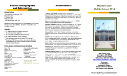 MGMS brochure edited (3) - Meadow Glen Middle School