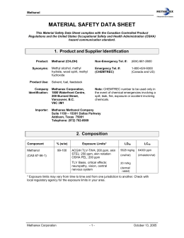 material safety data sheet - Elwood Technology
