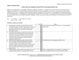 Teacher Skills and Strategies Checklist-TPOT