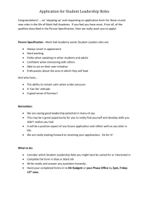 Application-for-Student-Leadership-roles-2014