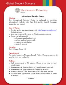ITC Flyer - Northeastern University