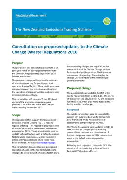 DOC  - New Zealand climate change information