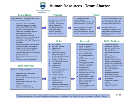 Human Resources - Thompson Rivers University